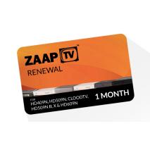 zaapTV Arabic 1 Month Service Renewal